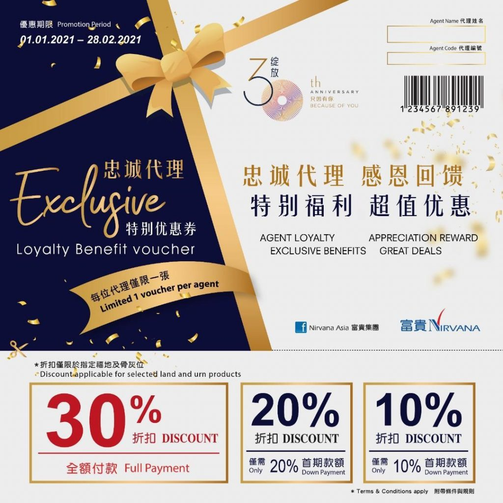 Exclusive Loyalty Vouchers